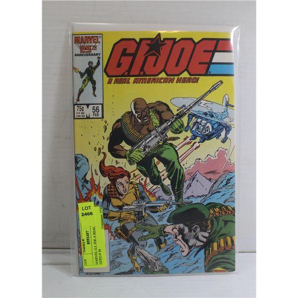 MARVEL G.I. JOE A REAL AMERICAN HERO # 56