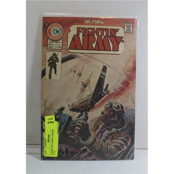 CHARLTON COMICS FIGHTIN' ARMY # 124