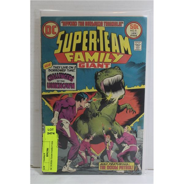 DC SUPER-TEAM FAMILY GIANT #8
