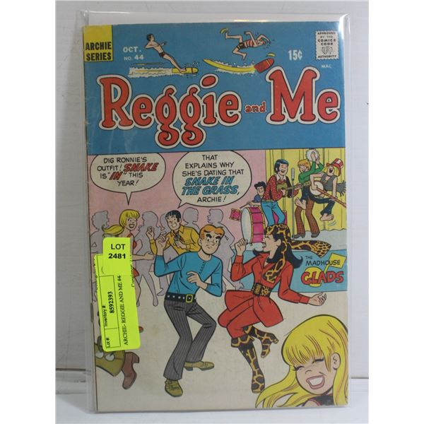 ARCHIE- REGGIE AND ME #44