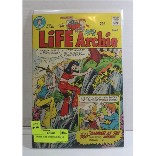 ARCHIE- LIFE WITH ARCHIE #140