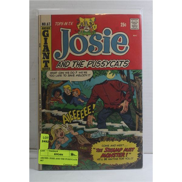 ARCHIE- JOSIE AND THE PUSSYCATS #67
