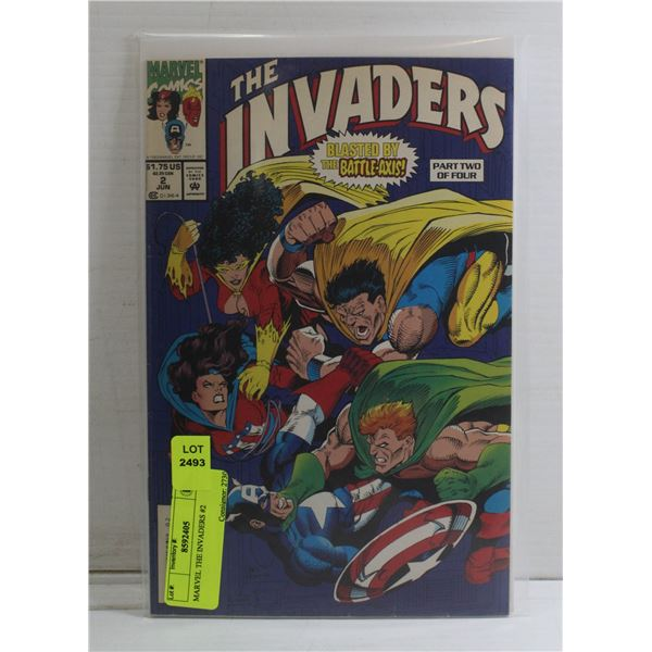 MARVEL THE INVADERS #2