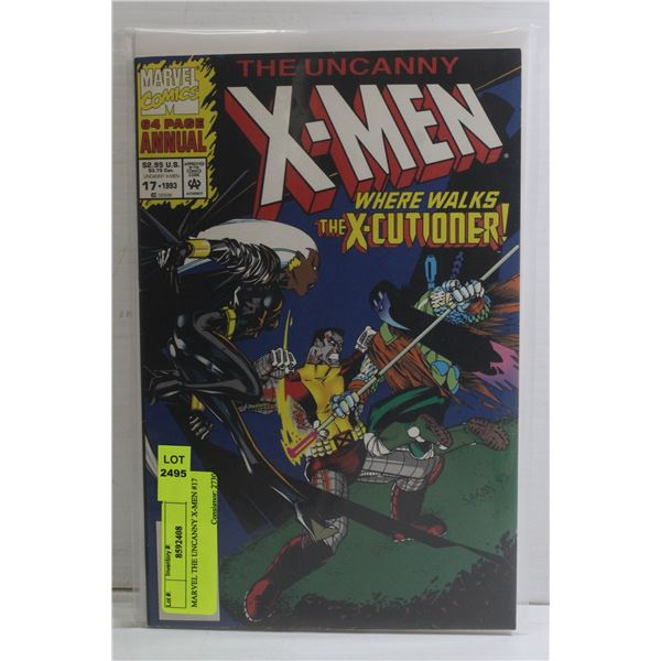 MARVEL THE UNCANNY X-MEN #17