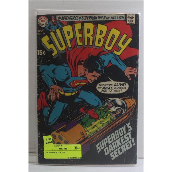 DC SUPERBOY # 158