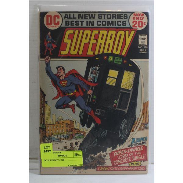 DC SUPERBOY # 188