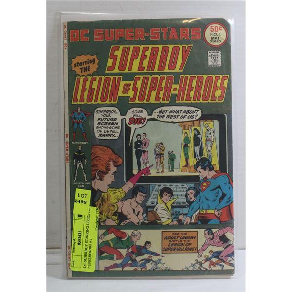 DC SUPERBOY STARRING LEGION OF SUPERHEROES # 3