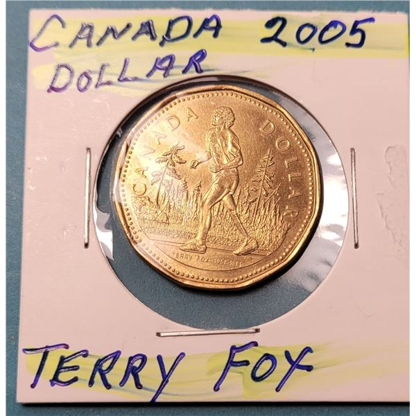 18) CANADIAN 2005 TERRY FOX COMMERATIVE