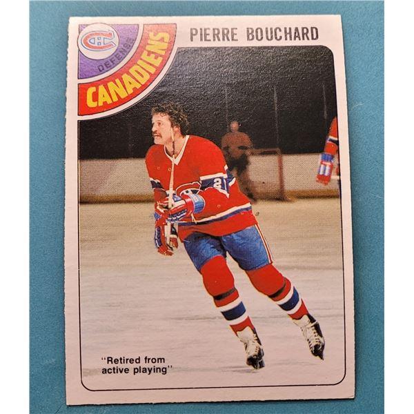 24) 1978-79 O-PEE-CHEE PIERRE BOUCHARD