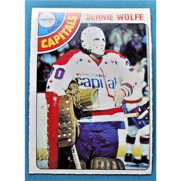 25) 1978-79 O-PEE-CHEE  BERNIE WOLFE