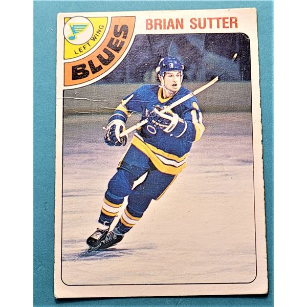 23) ROOKIE 1978-79 O-PEE-CHEE BRIAN SUTTER