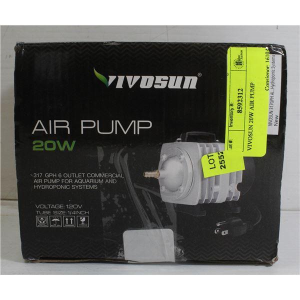 VIVOSUN 20W AIR PUMP