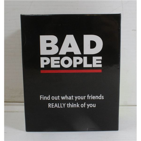 BAD PEOPLE PARTY GAME