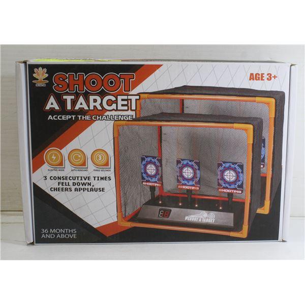 SHOOT A TARGET FOR NERF GUNS