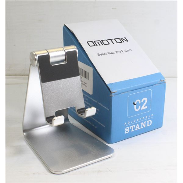 OMOTION CELLPHONE STAND - SILVER
