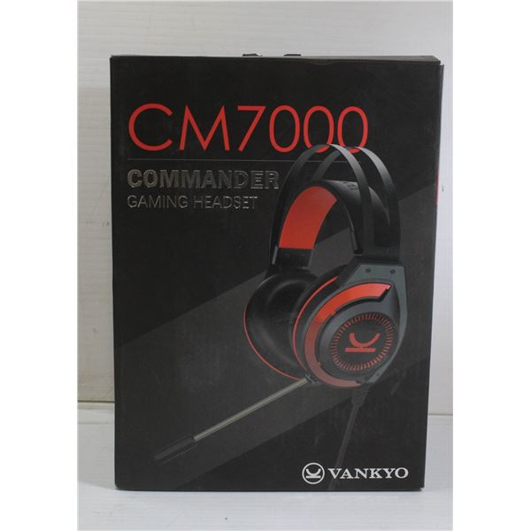 CM 7000 COMMANDER GAMING HEADSET