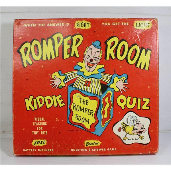 OLD ROMPER ROOM BOARD GAME