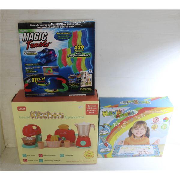 BOX OF KIDS ACTIVITY TOYS
