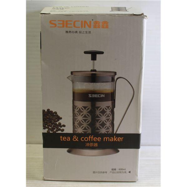 SEEC IN TEA + COFFEE PRESS
