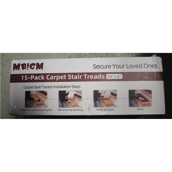 MBIGM 15 PACK CARPET STAIR THREADS