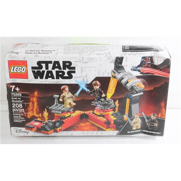 LEGO STARWARS DUEL ON MUSTAFAR' SET - 208 PIECES