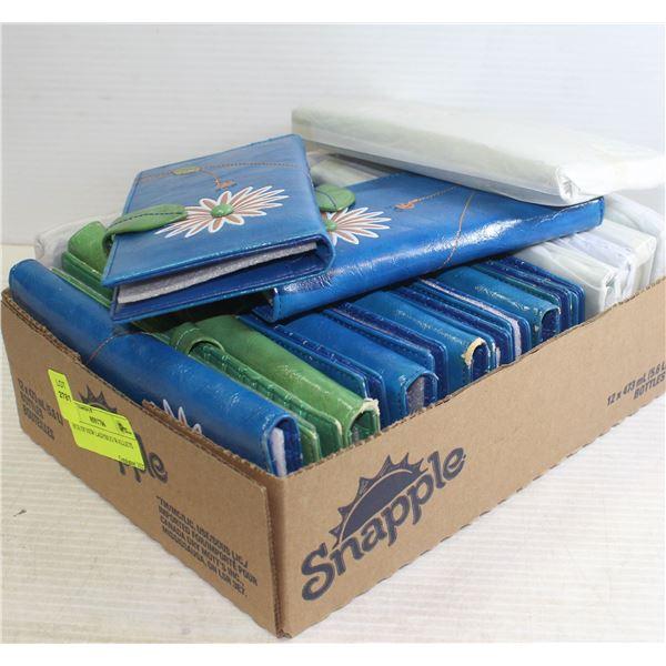 BOX OF NEW LADYBUG WALLETS