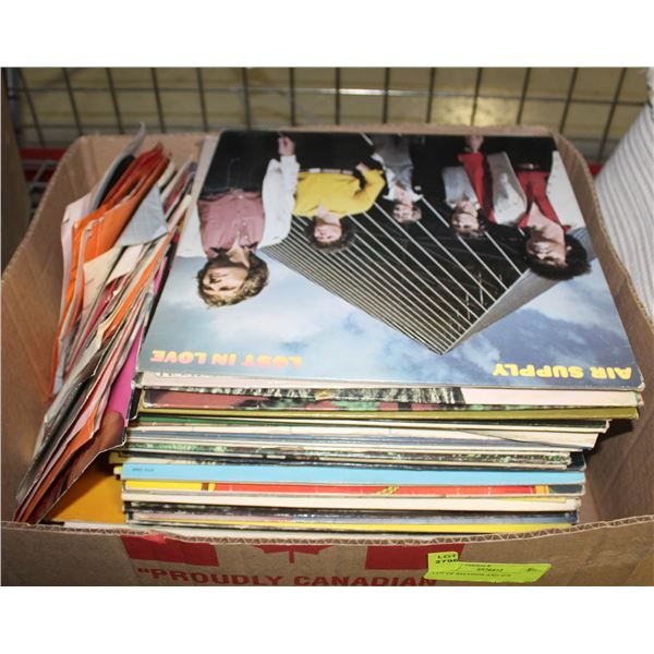 LOT OF RECORDS AND 45'S