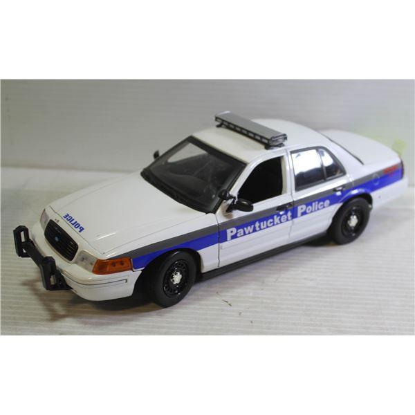 1:18 PAWTUCKET POLICE CROWN VICTORIA INTERCEPTOR