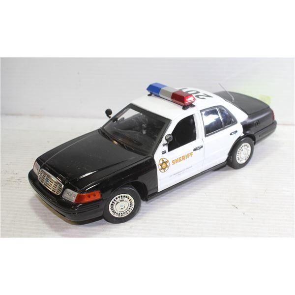 1:18 SHERIFF CROWN VICTORIA INTERCEPTOR