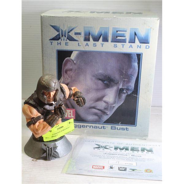LIMITED EDITION X-MEN BUST - JUGGERNAUT