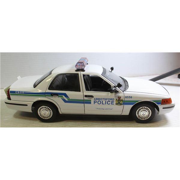1:18 ABBOTSFORD POLICE CROWN VICTORIA INTERCEPTOR