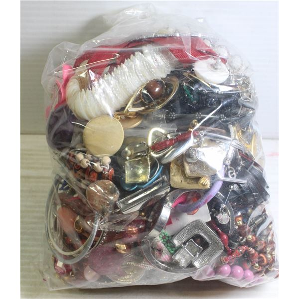 LARGE BAG OF JEWELRY