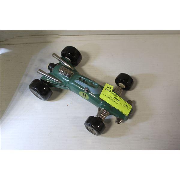 GREEN RACE CAR #11
