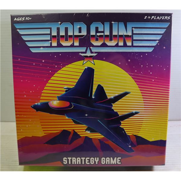 NEW SEALED TOP GUN STRATEGY GAME