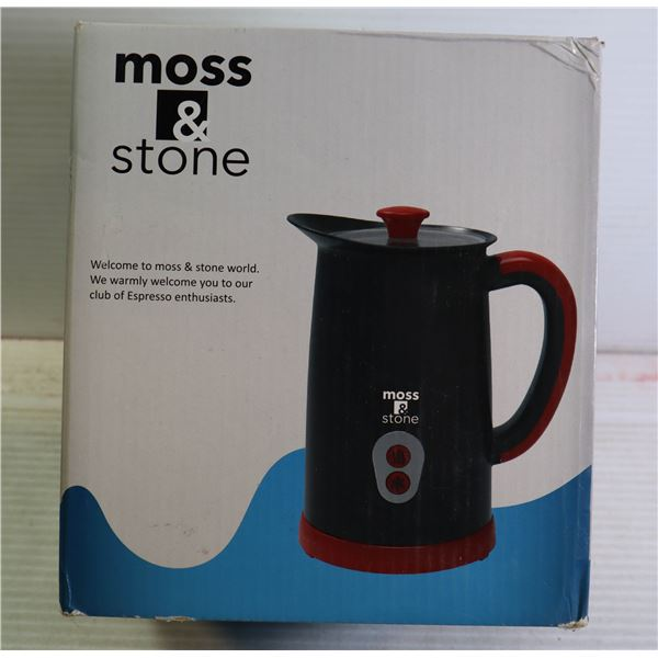 MOSS AND STONE ELECTRIC MILK FROTHER