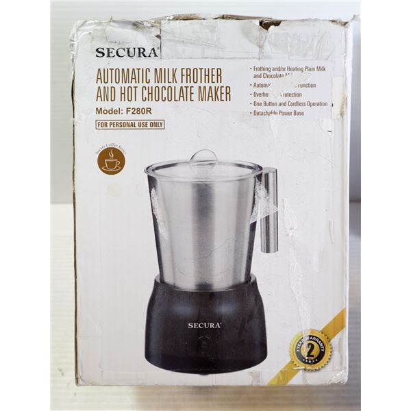 SECURA AUTOMATIC MILK FROTHER & HOT CHOCOLATE MAKE