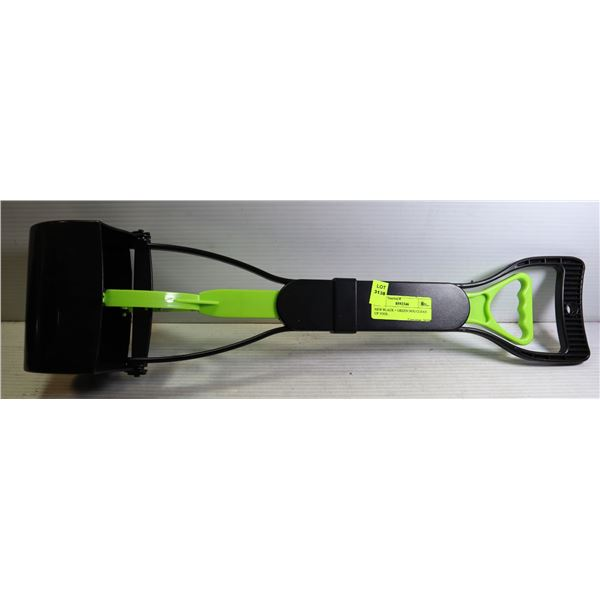 NEW BLACK + GREEN DOG CLEAN UP TOOL