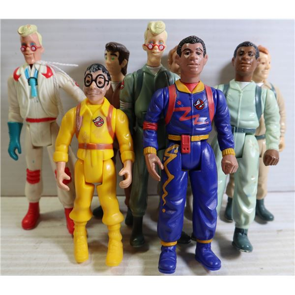 ASSORTED 1980S GHOST BUSTERS FIGURES