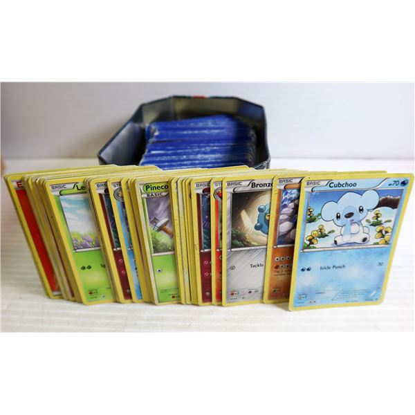 COLLECTORS POKEMON CARDS IN TIN BOX