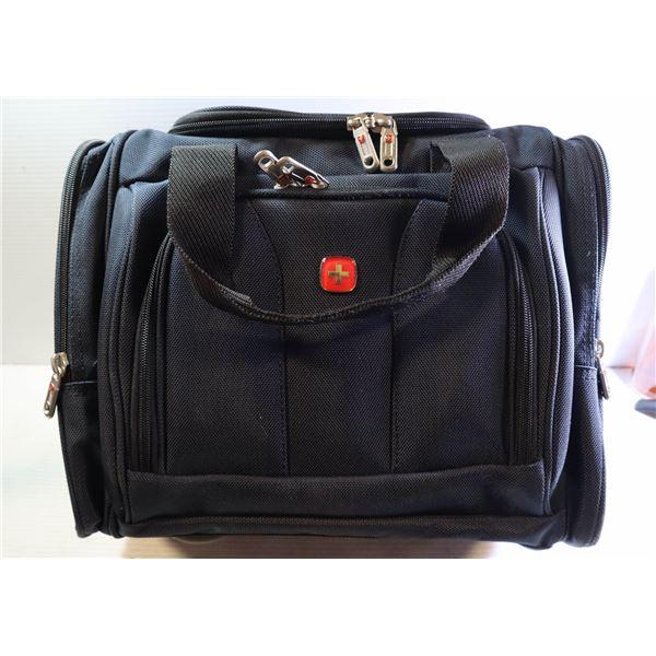 SWISSGEAR SHOULDER BAG W/ BROWN STRAP