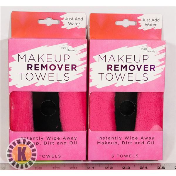 2 NEW PACKS OF MAKE UP REMOVER CLOTHS