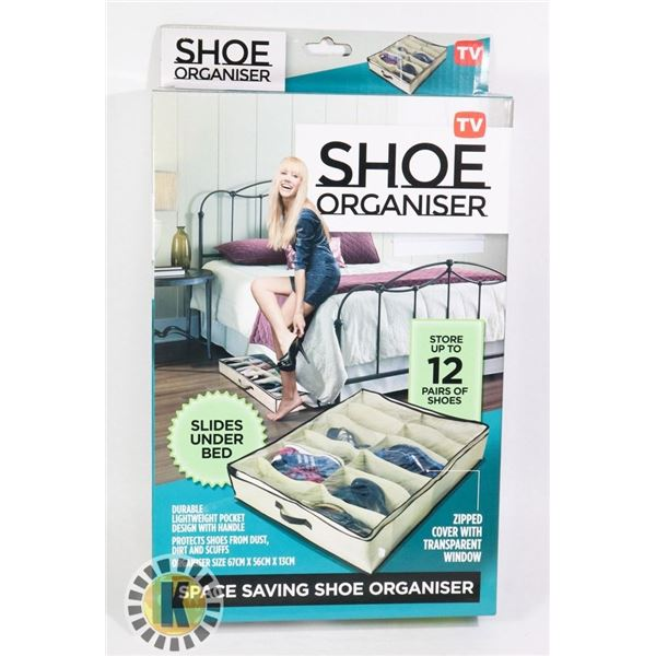 NEW SHOE ORGANIZER (STORE UP TO 12 PAIRS OF SHOES)