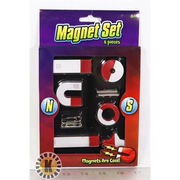 NEW 8 PC MAGNET SET