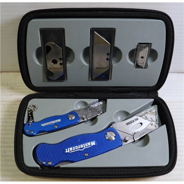 BRAND NEW MASTERCRAFT KNIFE SET IN CASE