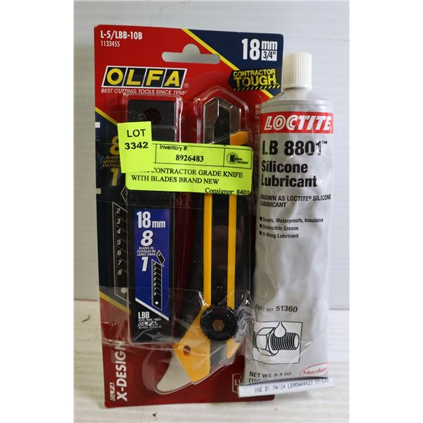 OLFA CONTRACTOR GRADE KNIFE WITH BLADES BRAND NEW