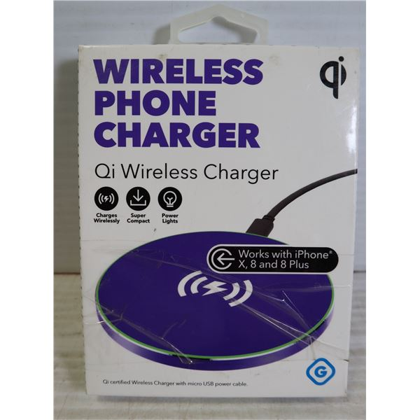 NEW GEMS QI WIRELESS PHONE CHARGER