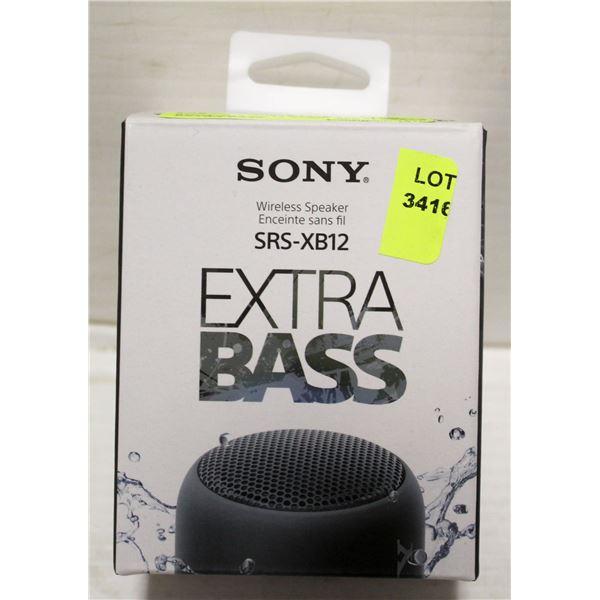 SONY SRS-XB12 WIRELESS SPEAKER EXTRA BASS
