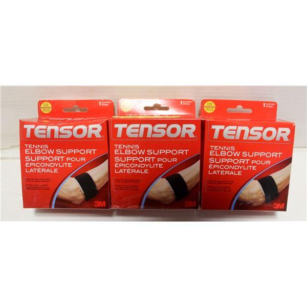 3PK TENSOR TENNIS ELBOW SUPPORT