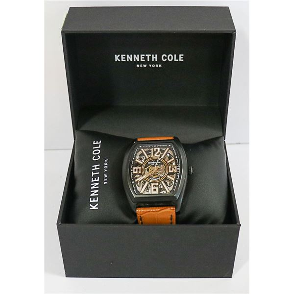 AUTHENTIC KENNETH COLE SKELETON AUTOMATIC WATCH