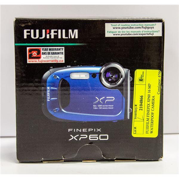 FUJIFILM FINEPIX XP60 16 MP WATERPOOF CAMERA